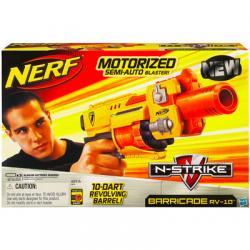 NERF N-STRIKE BARRICADE + 10 strzałek firmy HASBRO
