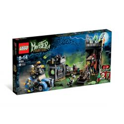 LEGO MONSTER FIGHTERS 9466 - SZALONY PROFESOR I JEGO POTWÓR