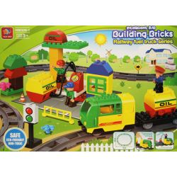 POCIĄG TOWAROWY DE LUXE - KLOCKI kompatybilne z LEGO DUPLO