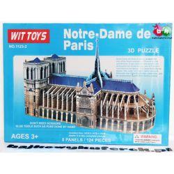 PUZZLE 3D KATEDRA NOTRE–DAME DE PARIS 125 el.