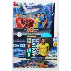 MEGA STARTER ALBUM + KARTY UEFA CHAMPIONS LEAGUE 2013/2014