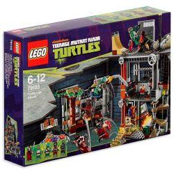 LEGO NINJA TURTLES 79103 – ATAK NA JASKINIĘ ŻÓŁWI