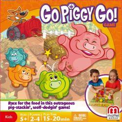 Gra UCIEKAJĄCE ŚWINKI - GO PIGGY GO! firmy MATTEL Y2552