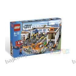 Zestaw z serii LEGO CITY 7642 - WARSZTAT SAMOCHODOWY