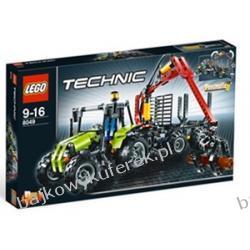 LEGO TECHNIC 8049 - TRAKTOR Z ŁADOWARKĄ