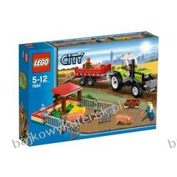7684 - LEGO CITY - HODOWLA ŚWIŃ I TRAKTOR