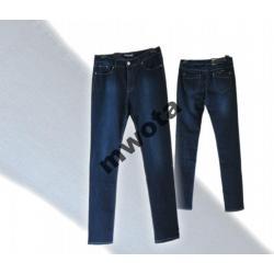 374-Spodnie dżinsowe, wysoki stan, r.30,38