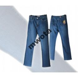 Spodnie dżinsowe,wysoki stan,lycra-37/32 i 38/32