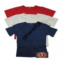 T-shirty różne kolory
