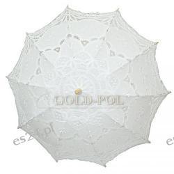 Parasolka ślubna - koronka