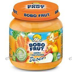 Bobo Frut deser jabłko i marchewka po 4. miesiącu 130g
