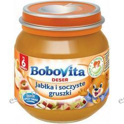 BoboVita deser jabłka i soczyste gruszki po 6. miesiącu 125g