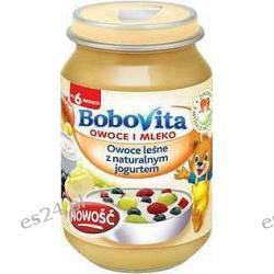 BoboVita Owoce i Mleko Owoce leśne z naturalnym jogurtem po 6. miesiącu 190g
