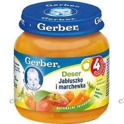 Gerber deser jabłuszko i marchewka po 4. miesiącu 130g