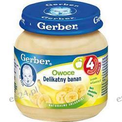 Gerber owoce Delikatny banan po 4. miesiącu 130g