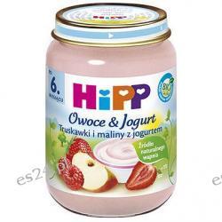 Truskawki i maliny z jogurtem po 6. miesiącu 160g