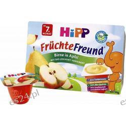 OWOCOWY PRZYJACIEL Gruszki i Jabłka z jogurtem 6 x 50g po 6. miesiącu 300g
