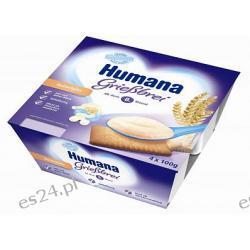 Humana Deserek mleczny kaszka z herbatnikiem 4x100g po 7. miesiącu 400g