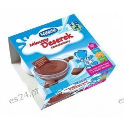 Nestle Misiowy Deserek 4 kubeczki po 100g mleczno-czekoladowy po 8. miesiącu 400g