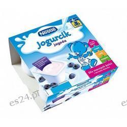 Nestle Misiowy Jogurcik jogurt dla dzieci jagoda po 6. miesiącu 400g