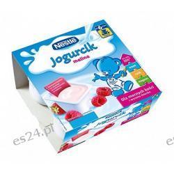 Nestle Misiowy Jogurcik jogurt dla dzieci malina po 6. miesiącu 400g