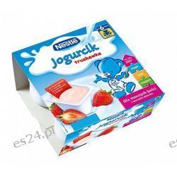 Nestle Misiowy Jogurcik jogurt dla dzieci truskawka po 9. miesiącu 400g