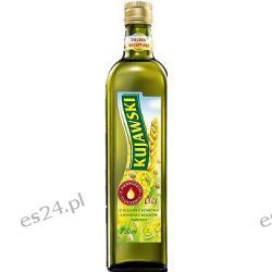 Kujawski olej rzepakowy z pierwszego tłoczenia z olejem z siemienia lnianego i z kiełków pszenicy 750ml