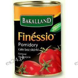 Bakalland Finessio Pomidory całe bez skórki 400g