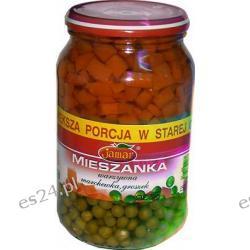 Jamar mieszanka warzywna marchewka i groszek 900g