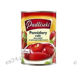 Pudliszki pomidory w puszce całe 400g