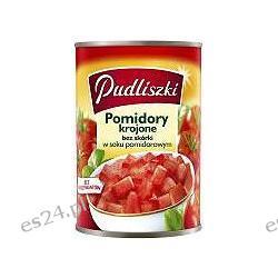 Pudliszki pomidory w puszce krojone 400g