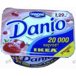 Danio Danone serek homogenizowany truskawkowy 140g