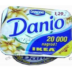 Danio Danone serek homogenizowany waniliowy 140g