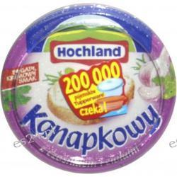 Hochland Kanapkowy serek kremowy z czosnkiem i ziołami 150g