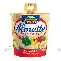 Hochland, Almette serek kremowy z papryką i pomidorami 150g