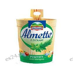 Hochland, Almette serek kremowy z ziołami 150g
