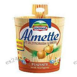 Hochland, Almette serek kremowy ze szczypiorkiem i cebulą 150g