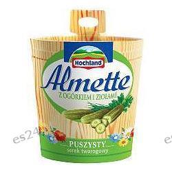 Hochland, Almette serek kremowy z ogórkiem i ziołami 150g