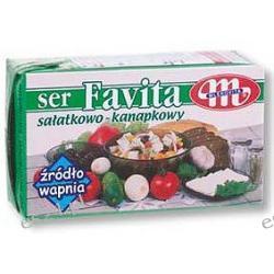 Favita Mlekovita ser sałatkowo-kanapkowy ser miękki solankowy 16% tłuszczu 270g