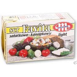 Favita Mlekovita ser typu feta z mleka krowiego żółta - 12% tłuszczu 270g
