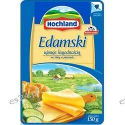 Hochland ser żółty w plastrach edamski 150g