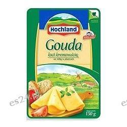 Hochland ser żółty w plastrach gouda 150g