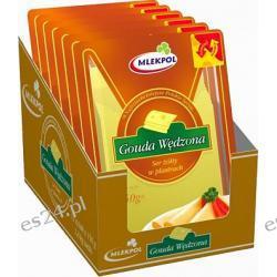 Mlekpol Gouda Wędzona ser żółty plastry 150g