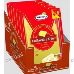 Mlekpol Królewski z Kolna ser żółty pakowany hermetycznie 150g