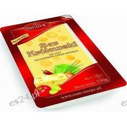 Sierpc Królewski ser żółty pakowany hermetycznie plastry 150g