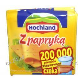 Hochland serek topiony w plastrach z papryką 150g