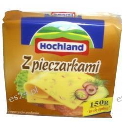 Hochland serek topiony w plastrach z pieczarkami 150g