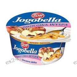 Jogobella owocowa wyspa łagodny deser jogurtowy pieczone jabłko 150g