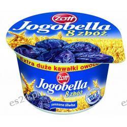 Zott Jogobella 8 zbóż jogurt owocowy ze zbożami suszona śliwka 250g