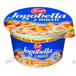 Zott Jogobella jogurt owocowy z musli brzoskwinia 180g